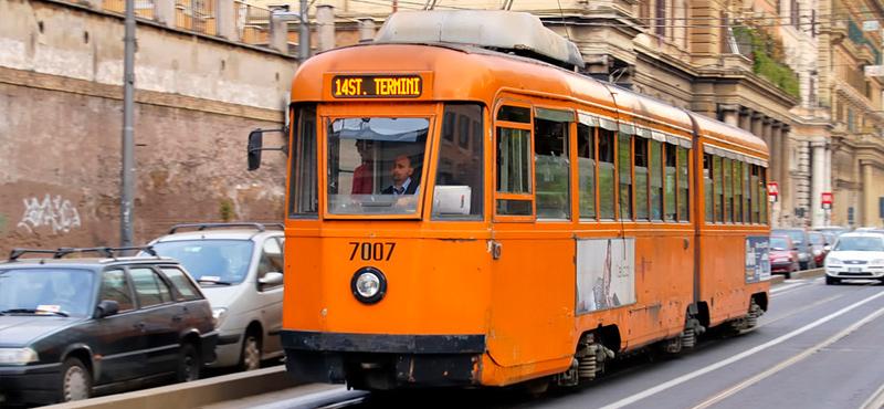Trams Rome